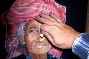 Visage de Birmanie