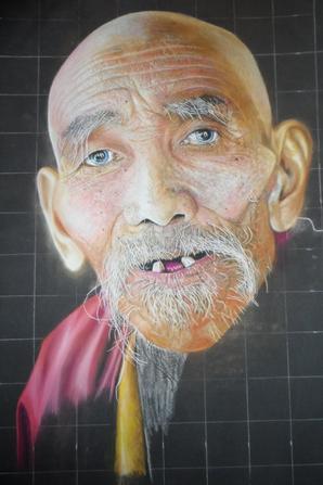 Un Moine au Tibet
