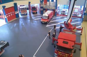 Manoeuvre sauvetage au CSP Cherbourg