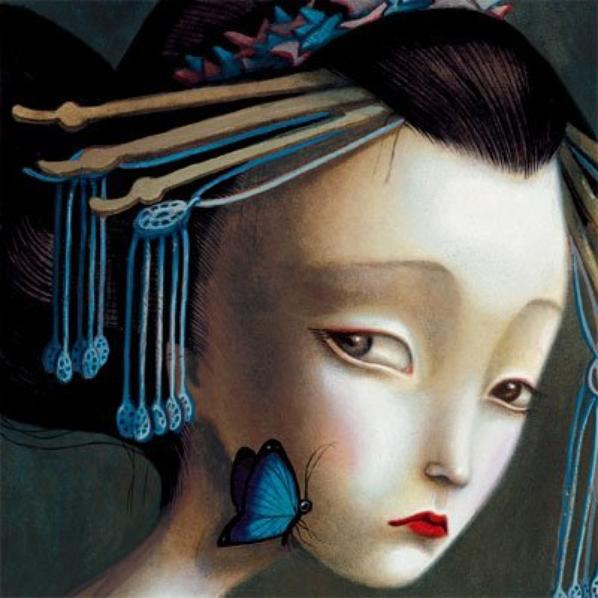 Mrs Butterfly By Benjamin Lacombe