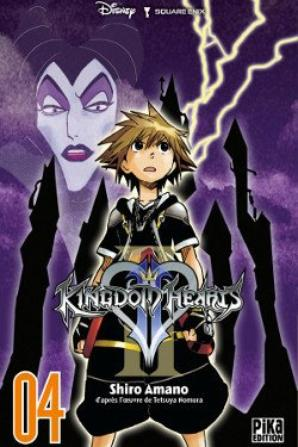 Les mangas Kingdom Hearts.