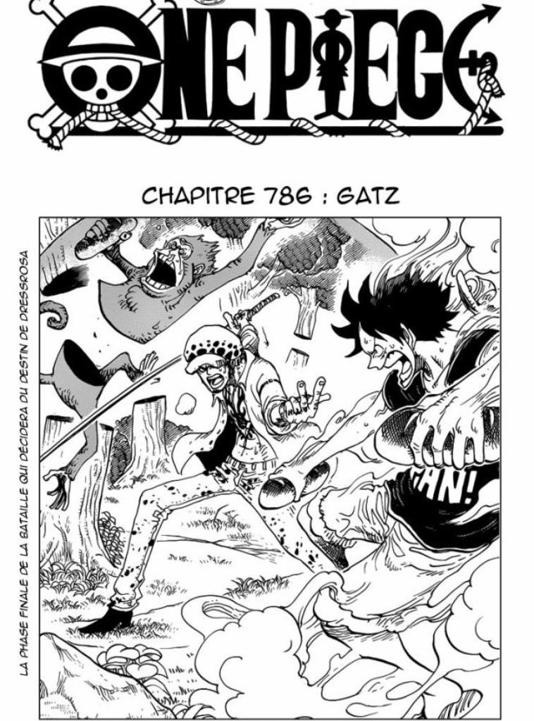 Luffy, Trafalgar (et Kidd).