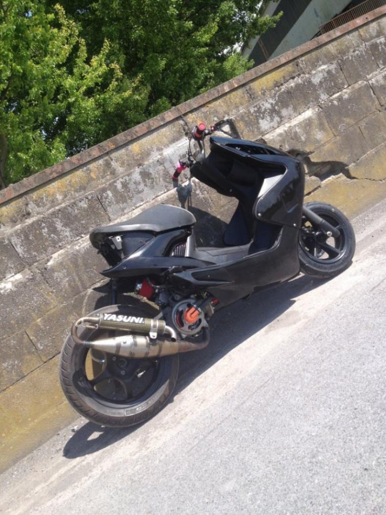 Mon nitro Black 70 mkll racing