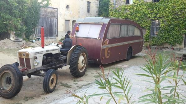 Caravane artisanale MONJARET de 1954