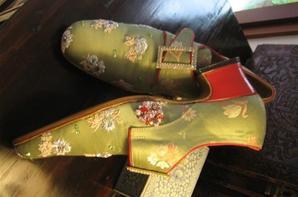 Lancement d'une ligne de chaussures de style baroque dans quelques mois, avant cela venez découvir ma chaussure de sport Brazilian Fever