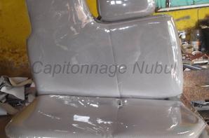 Capitonnage en Nikel transparent