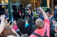 Gaga quitte son hôtel à Helsinki