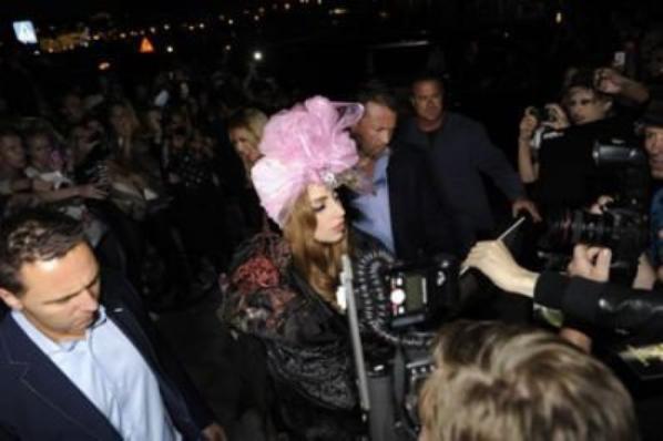 Gaga à Stockholm (Suède)