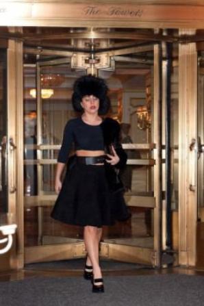 Gaga à New York