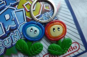 Porte clé Mario