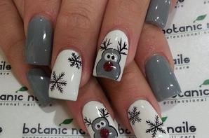 ○ Inspiration nail-art noël ! ○