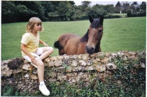 Moi avec les chevaux =)