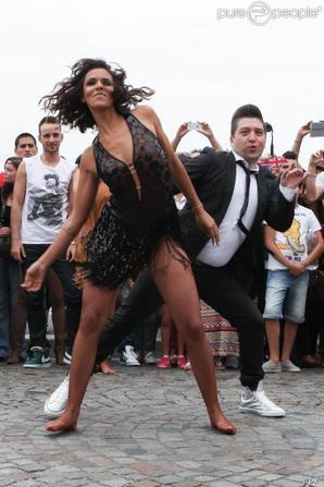 SHY'M au Sacré Coeur,2 juillet 2013