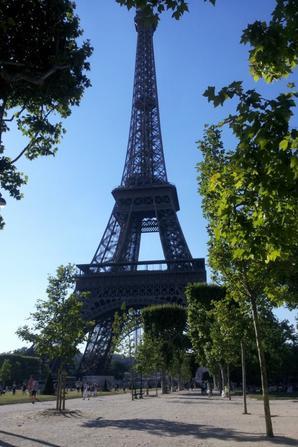 Paris du 03/08/12 au 10/08/12