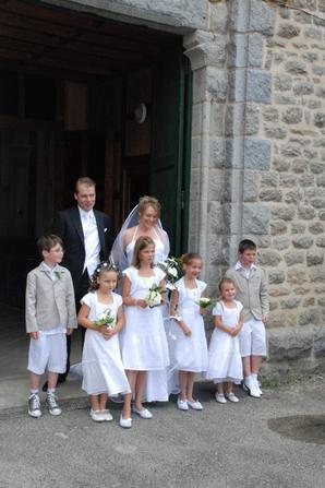 Mariage Gwendoline et Olivier, été 2009, Belz.