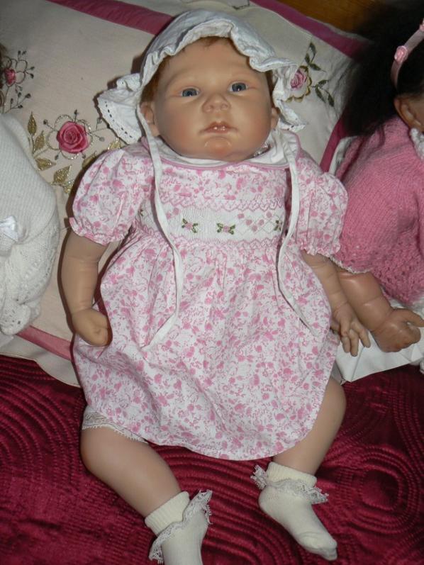 lucie rose nouvelle robe merci jolie poupée