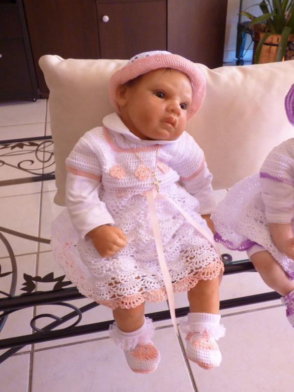 mes princesses cannelle et charlotte dans leur nouvelle tenue