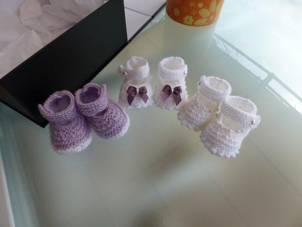 divers petits chaussons