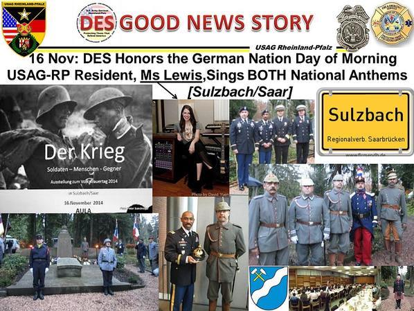 16/11/2014 / Sulzbach - Saar // Volkstrauertag / mourning - day / jour de deuil