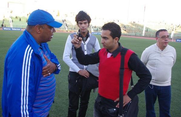 Mon Intervew  AVec L entraineur de Mouloudia D Oujda Mr Hassan Reghraghi
