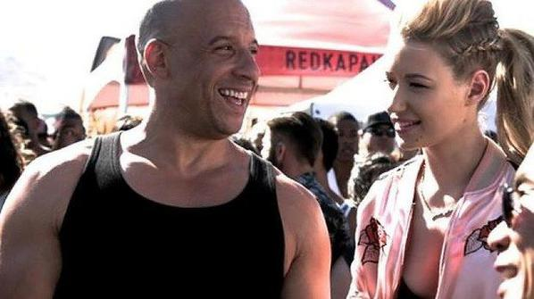 Iggy ans fast ans furious 7