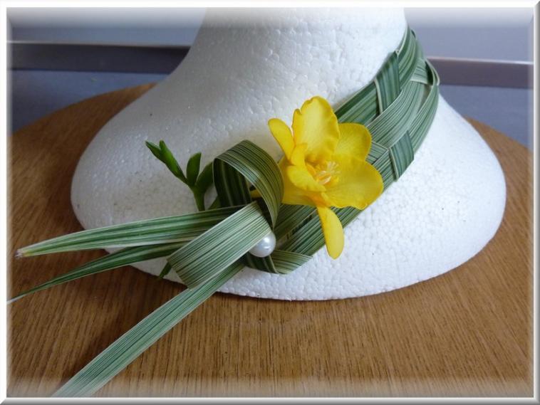 Réalisation d'un chapeau  en attendant les beaux jours