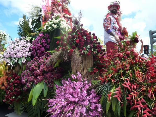 Un petit tour à Madère à la fête de la fleur