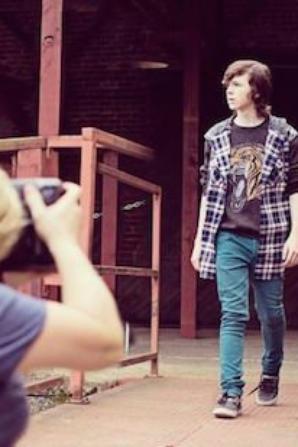 Photoshoot de Chandler Riggs pour le Magazine LVLten