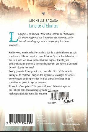 Tome 2: La Cité d'Elantra de Michelle Sagara