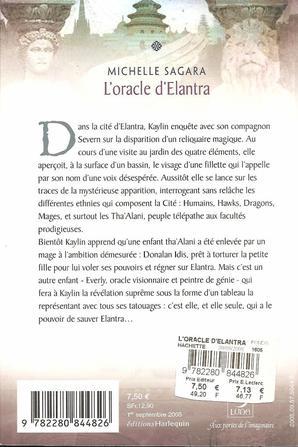 Tome 3:  L'oracle D'Elantra de Michelle Sagara