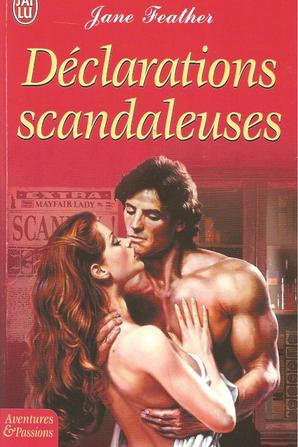 Déclarations scandaleuses de Jane Feather