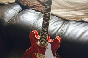 Ma guitare et mon ampli ! (: