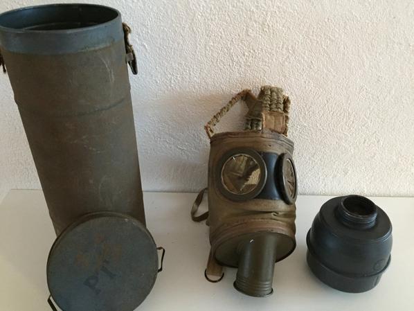 Masque a gaz modéle TC 38 Standard