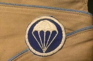 Calot chino US para/infanterie WW2