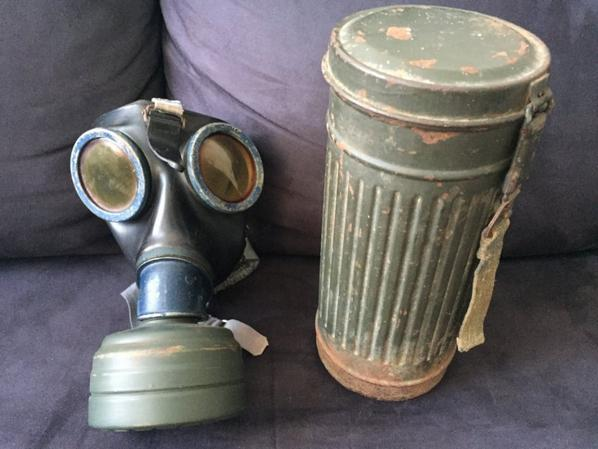 Masque à gaz allemand M38 ww2