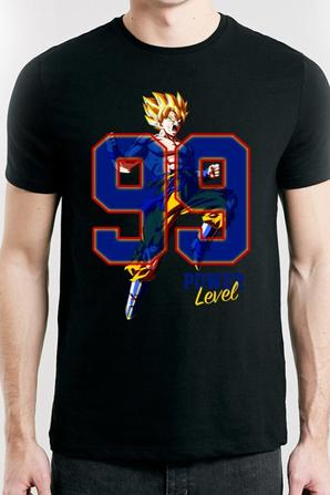 "Nouvelle collection de t-shirts "" Power Level "" !"