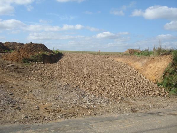 chantier ouvert le 17 septembre 2013