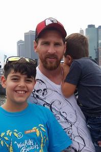 Famille Messi, Suarez & Busquets