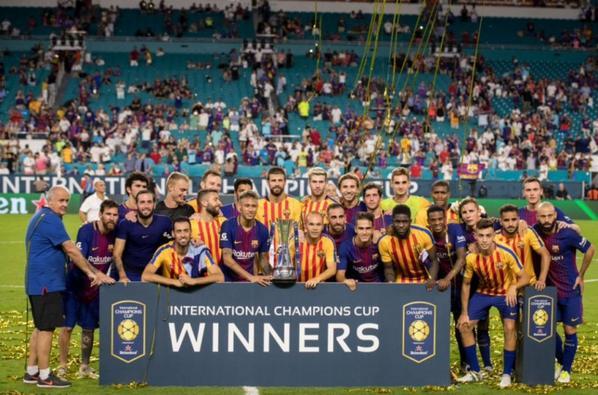 Le Barça remporte la Champions Cup 2017