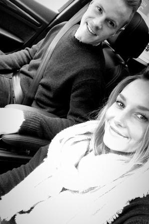 Marc Andre Ter Stegen & Daniela