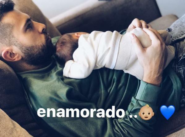 Naisssance: Romarey Ventura & Jordi Alba ont accueuillit leur premier enfant. Bienvenue Piero Alba