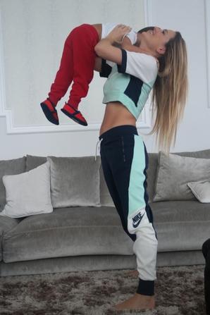 Elena Galera & ses fils