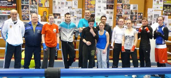 stage elite feminine a douai avril 2013