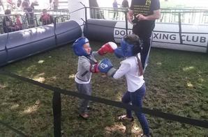 initiation boxe a dorignies chateau delattre le 16 aout 2014