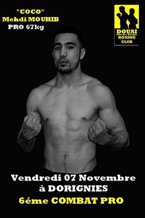 gala de boxe a dorignies le 7 novembre 2014