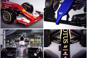 Mais qu'elles sont moches les F1 2014 !!!!!