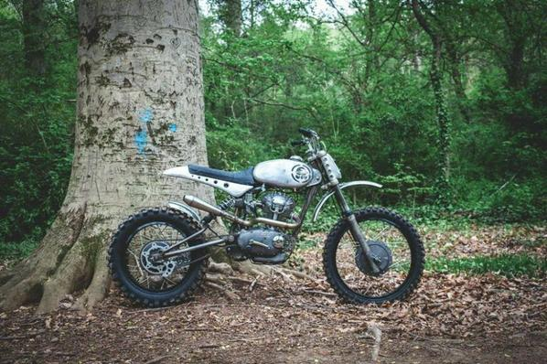 This ducati scrambler is not for hipsters...