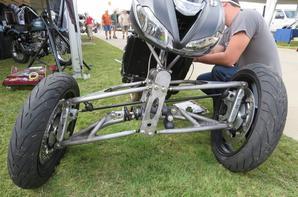 Speed triple 3 wheels, more pics..