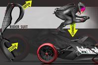 Bimota track bike concept,  by Maxime Lefebvre