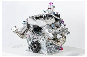 Porsche 2.0 liter turbo V-4, world champion WEC 2015 and Le mans winner..